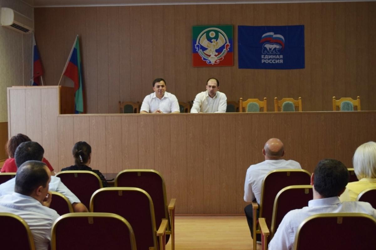 Уполномоченный Главы РД по защите прав предпринимателей Заур Курбанов с рабочей поездкой посетил Магарамкентский район