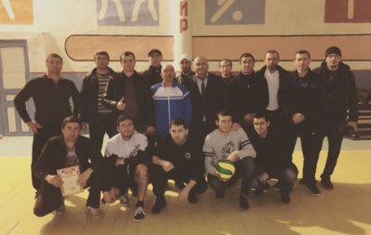 Волейболисты села Гапцах заняли первое место