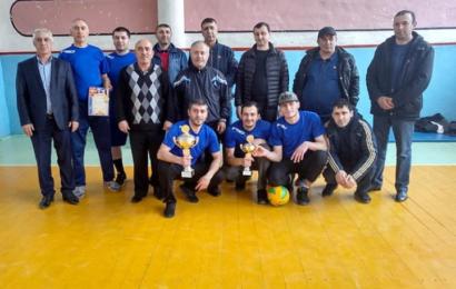 Волейболисты с. Гапцах заняли первое место